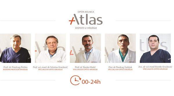 Centar za opštu hirurgiju - Atlas opšta bolnica
