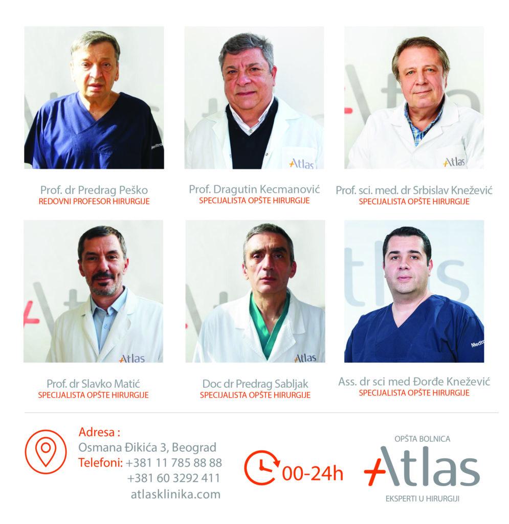 Centar za opštu hirurgiju Atlas opšta bolnica