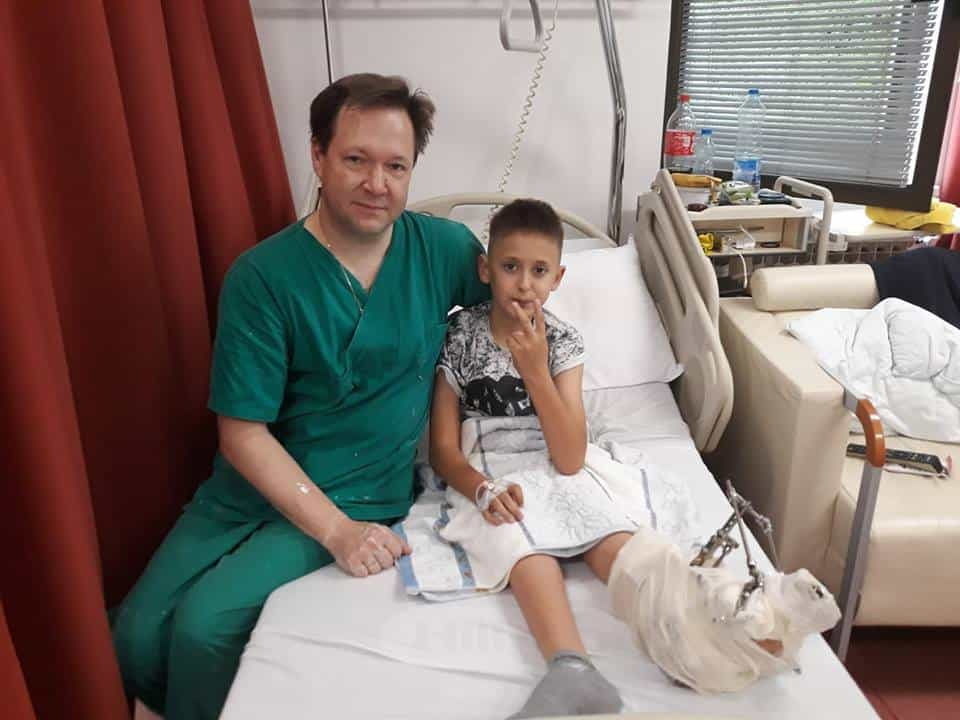 Peof dr Popkov sa pacijentom