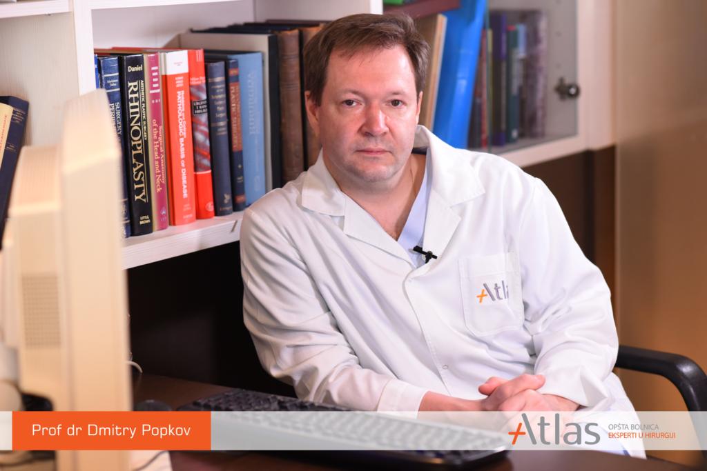 Prof dr Dmitry Popkov - Atlas opšta bolnica