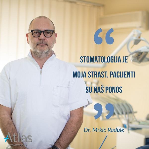 dr Radule Mrkić
