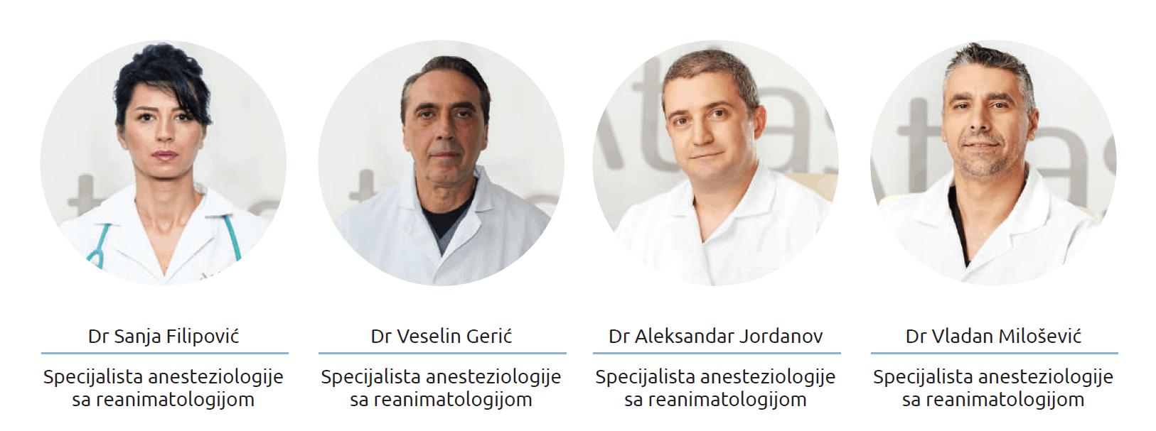 Anesteziološki tim Atlas bolnica