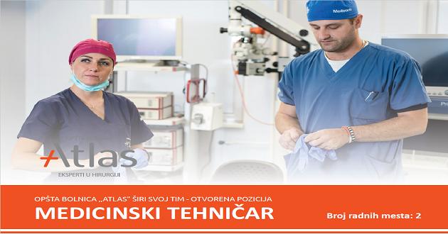 Oglas za posao medicinski tehničar