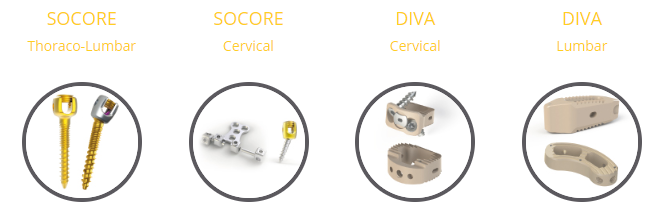 Nova Spine - instrumenti
