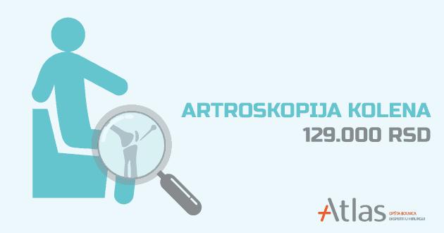 Artroskopija kolena cena