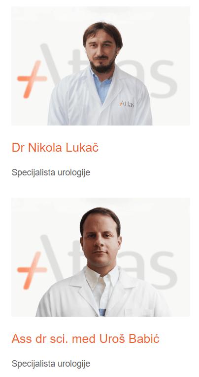 Urologija Atlas bolnica