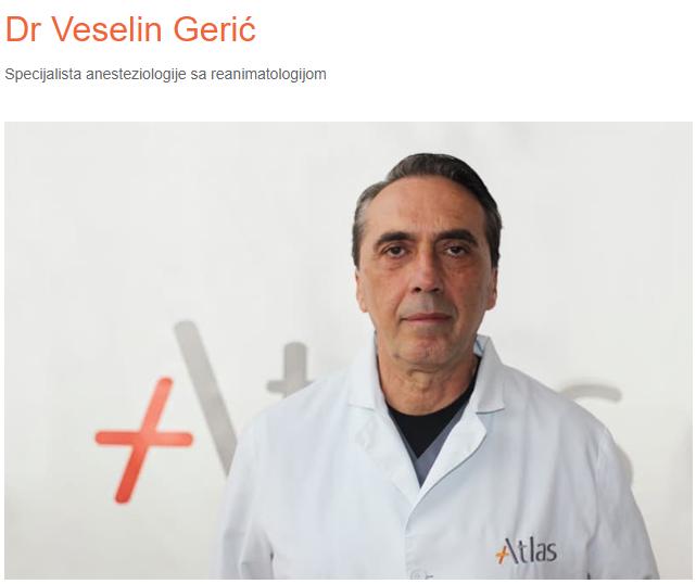 dr Veselin Gerić terapija bola