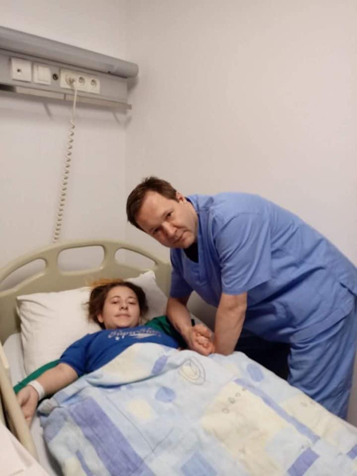 Profesor Pokov i Elma - operacija donjih ekstremiteta