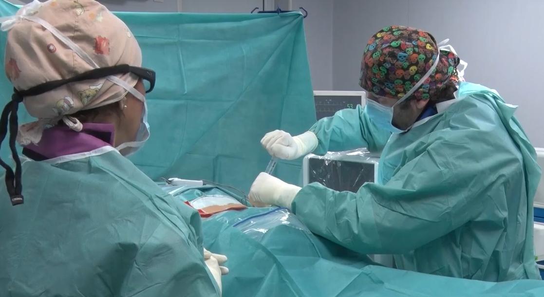 Operacija dekompresije diska Atlas bolnica