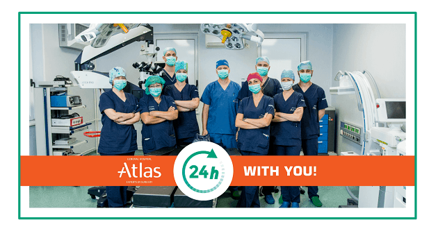 Atlas hopital working hours covid 19