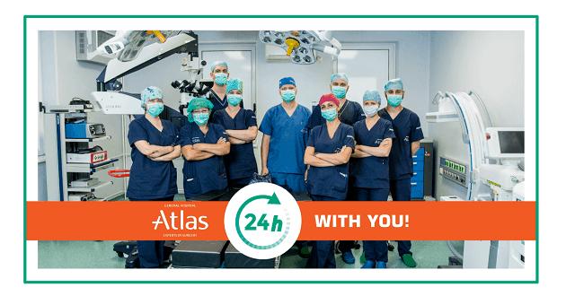 Atlas hopital working hours covid 19